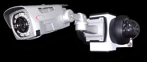 corner mount cameras lg 1 - Camera Mounts with Built-in Junction Box
