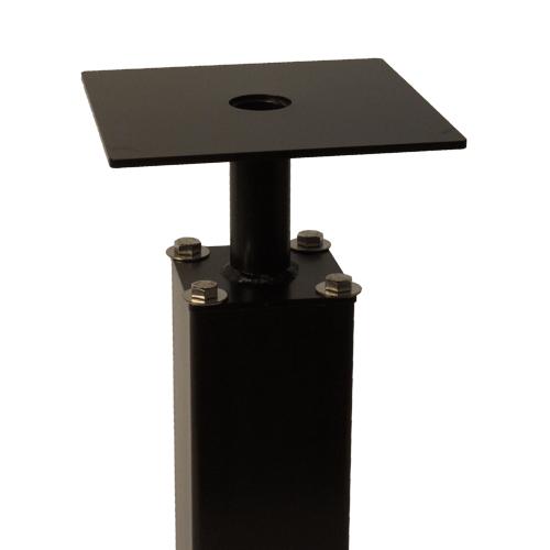 square round pedestals lg 1 - 4″ Camera Poles