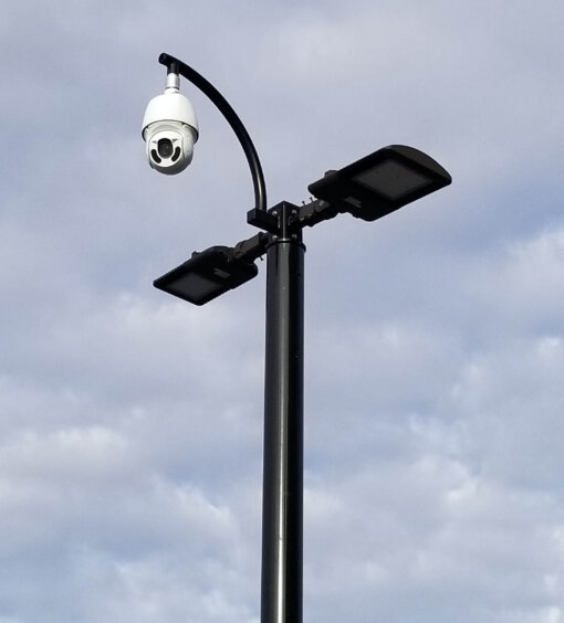 DoubleLightsFlyoverPTZ 1 510x564 - SteadyMax 12′ Solar & Wireless Pole