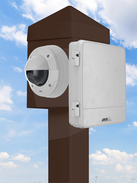 axis camera power box lg - 8 x 10 Mounting Platform