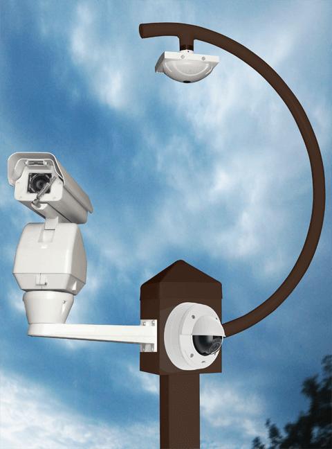 birdhouse flyover ptz axis lg - 8 X 10 Mounting Platform (Birdhouse)