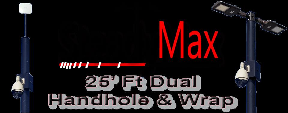 steadymax 25 dual hh - SteadyMax 25′ Dual Hand Hole