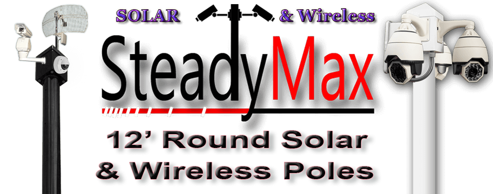 steadymax solar pole page image 2 - SteadyMax 12′ Solar & Wireless Pole