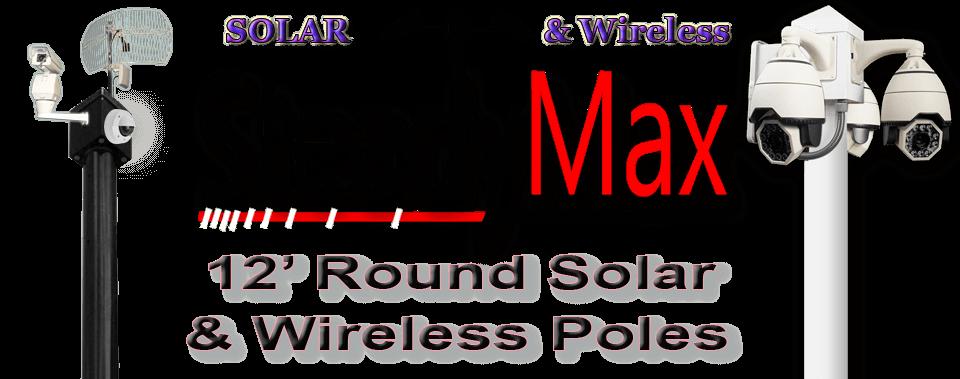 steadymax solar pole page image 2 - SteadyMax Florida Camera Poles