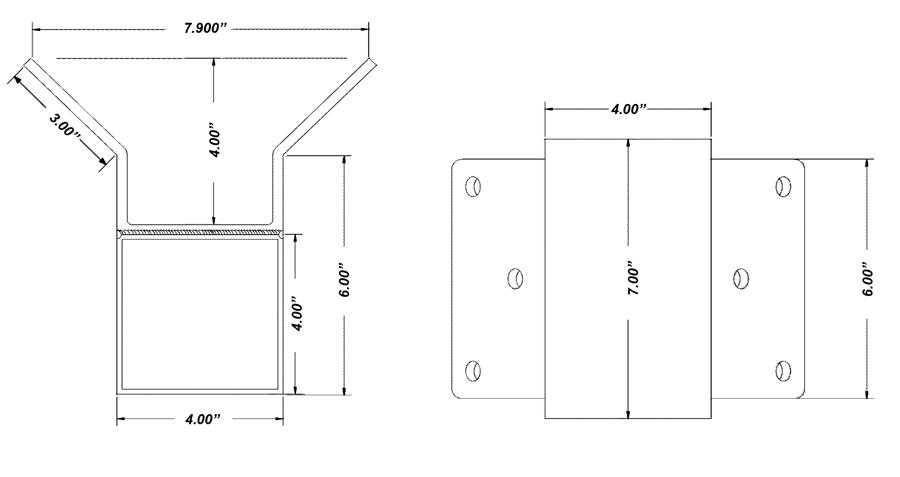 corner mount dimensions lg - Corner Mounts