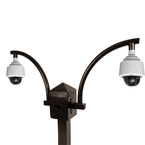 doublefly out lg - Fly-Out PTZ Camera Mount
