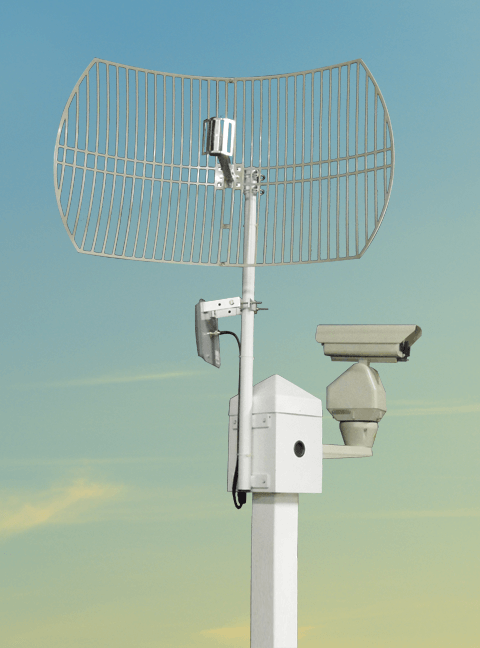 ptz mount with antenna mast lg - Antenna Masts