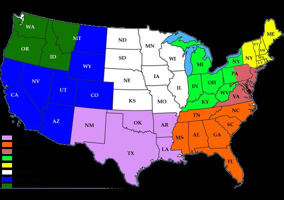 website rep map 567x400 - Manufacturers Representatives