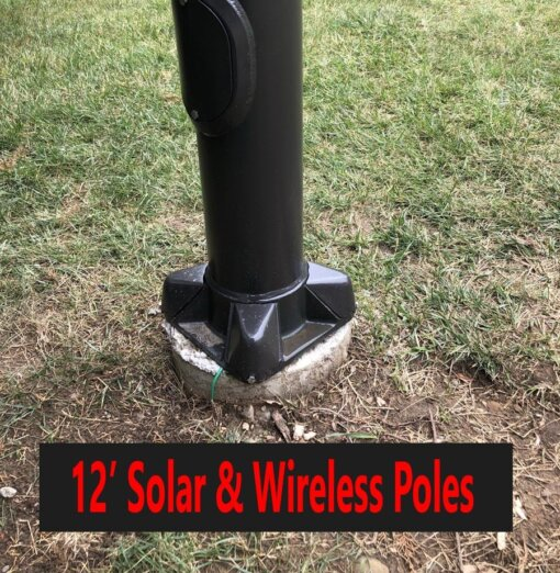 12ft Solar and Wireless