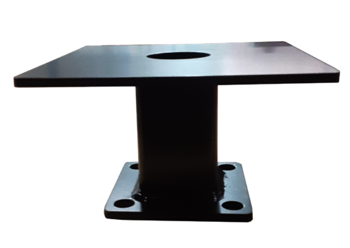"""SP TMSQHD 510x361 - 8"""" Square Pedestal (for Pole Top)"""