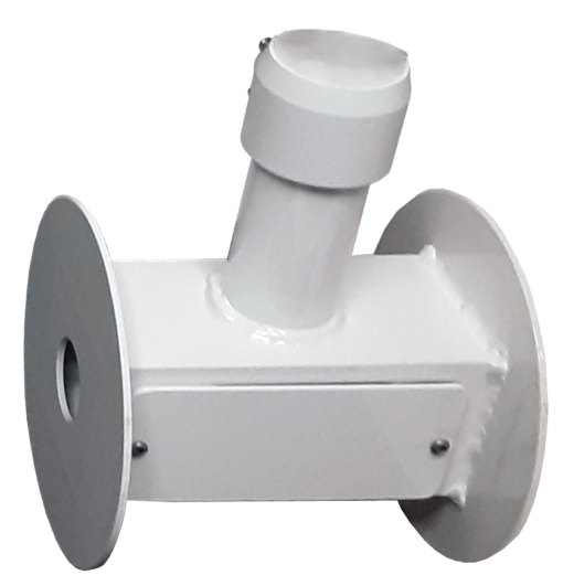 dual dome white 510x531 - Dual Dome/Bullet Adaptor