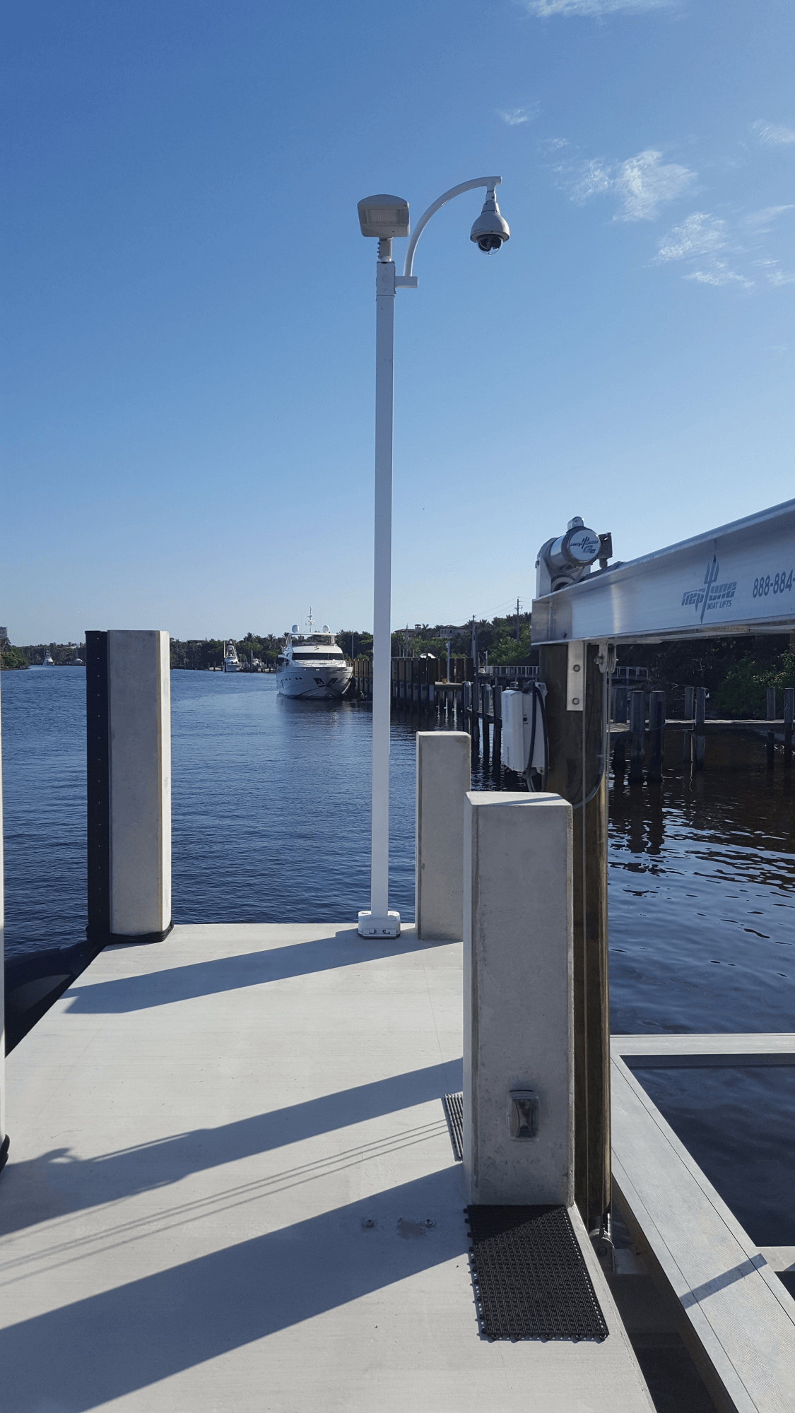 Boat Slip Pole - Photo Gallery