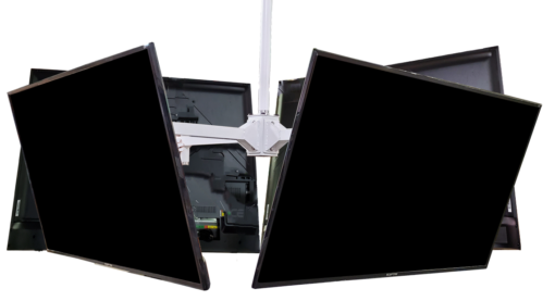 4 TVs 510x277 - TV Suspension Mounts