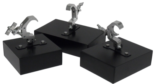 Pipe clamp mounts 1 510x278 - Cam Blox - No Drill Solutions