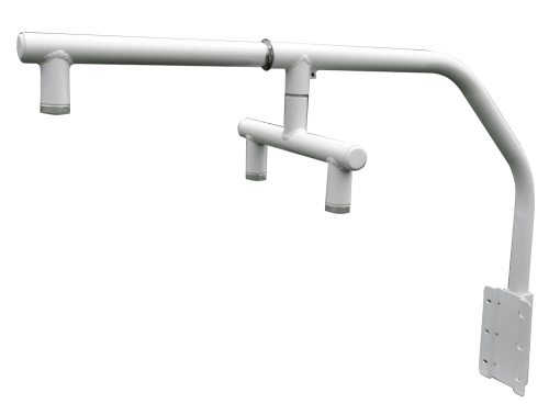 parapet mount w twin adapter and extension - Twin Adapter and Extension