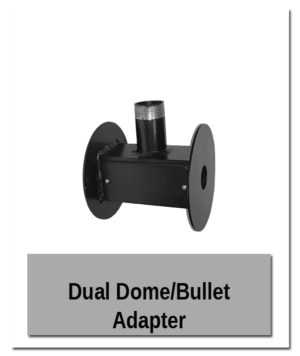 Dual Dome - Building Mount Showroom