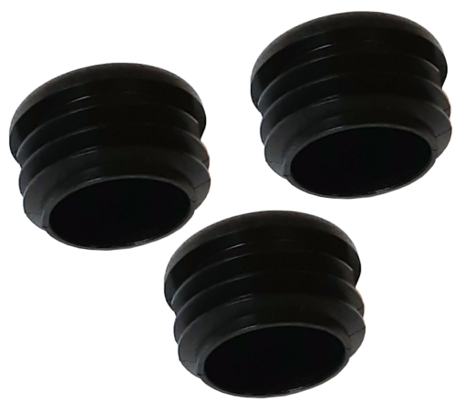 "MP68 Caps Black 510x452 - MP68 1-1/8"" Caps - Main Holes- (3Pack)"