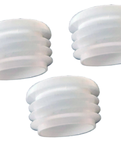"MP68 Caps White 2 247x296 - MP68 1-1/8"" Caps - Main Holes- (3Pack)"