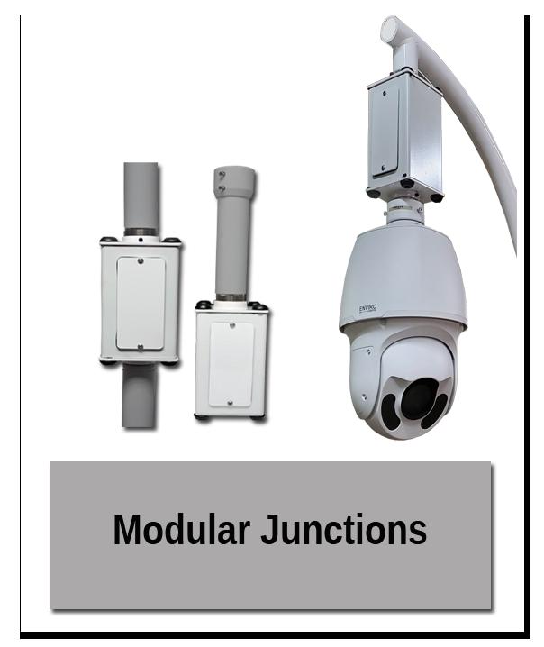 Modular Junctions in use 1 - Indoor Mounting Showroom