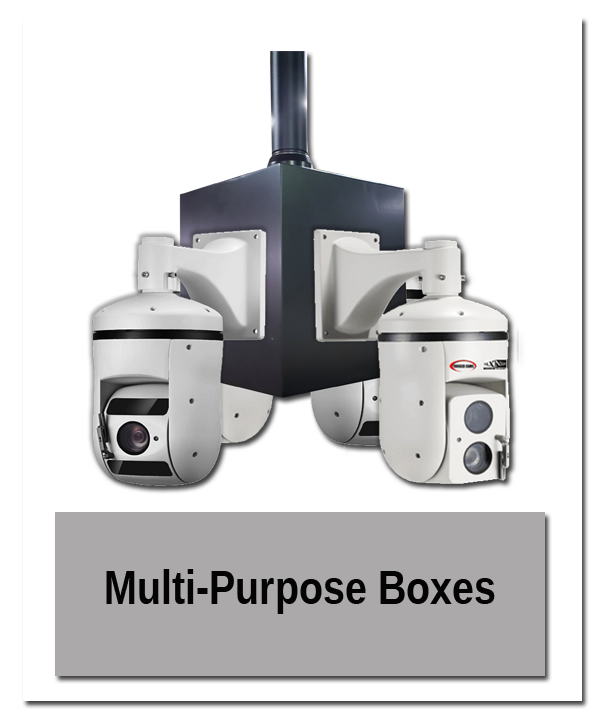 Multi Purpose Boxes in use - Indoor Mounting Showroom