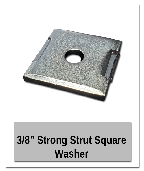 Square washer - DIY Parts and Pieces