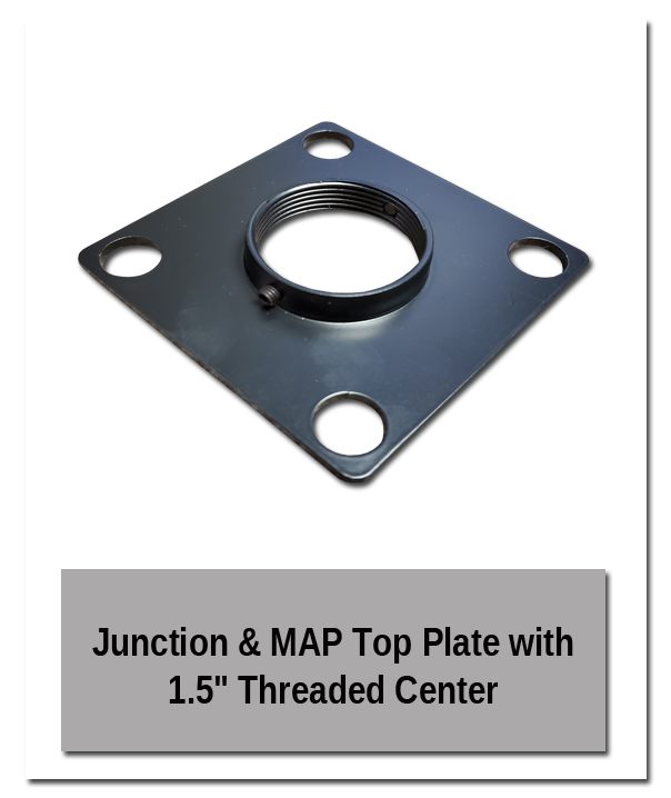 Threaded Plate - MAP/Junction Bodies & Parts