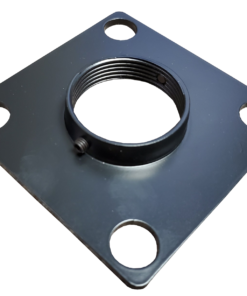 """threadedplate 247x296 - Junction & MAP Top Plate with 1.5"""" Threaded Center"""