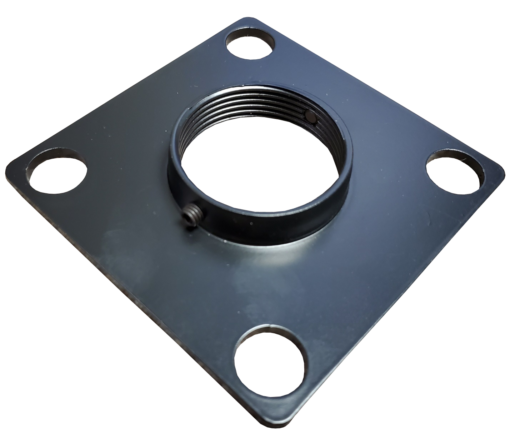 "threadedplate 510x438 - Junction & MAP Top Plate with 1.5"" Threaded Center"