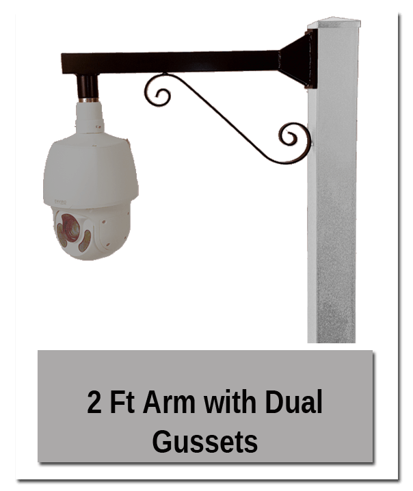Dual Gussets - Accessory Mounting Pedestal