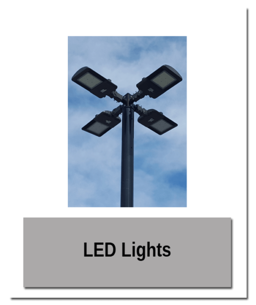 LED Lights 510x606 - Accessory Mounting Pedestal