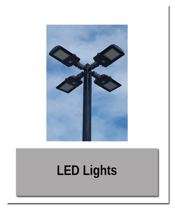 LED Lights - Accessory Mounting Pedestal