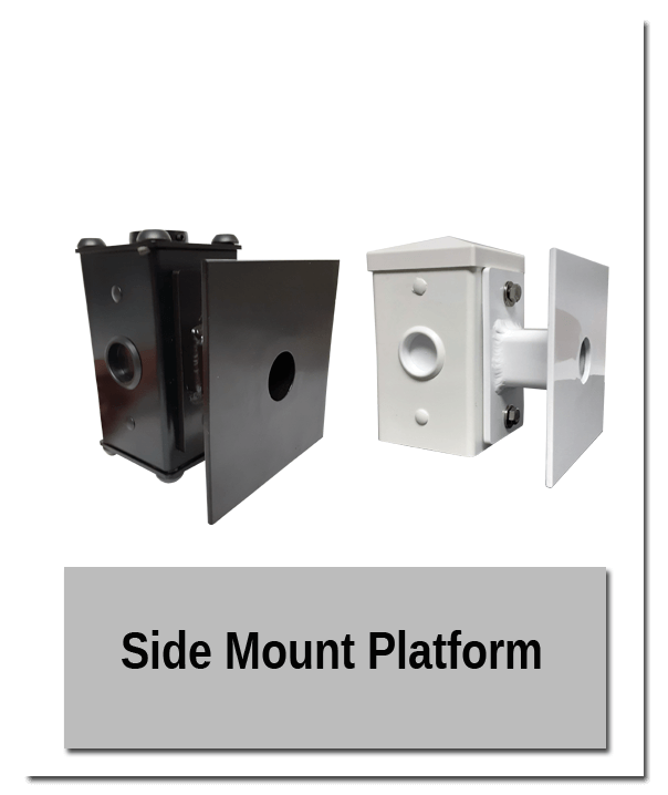 Side Mount Platform good - Indoor Mounting Showroom