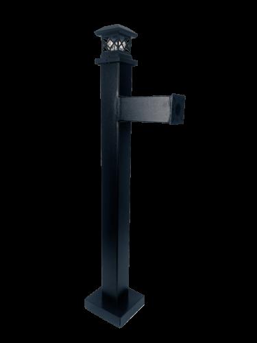 Heavy Duty Architectural Keypad Reader Pedestal with solar light