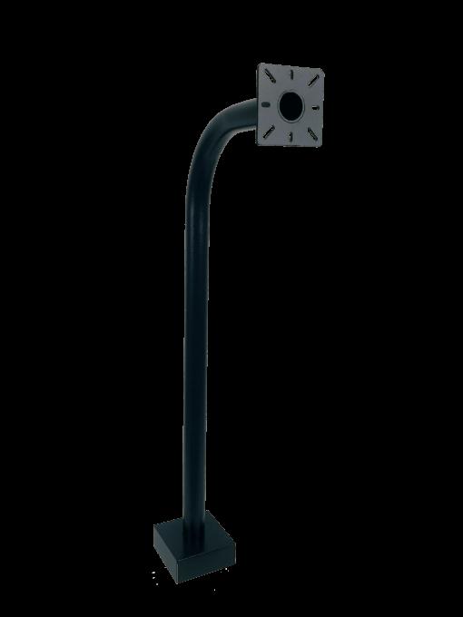 Keypad & reader pedestal