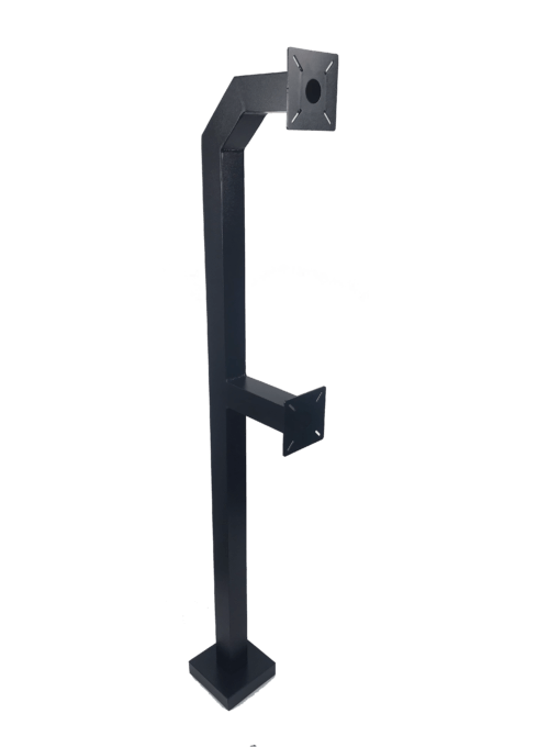 Dual Height Heavy Duty Architectural Keypad & Reader Pedestal